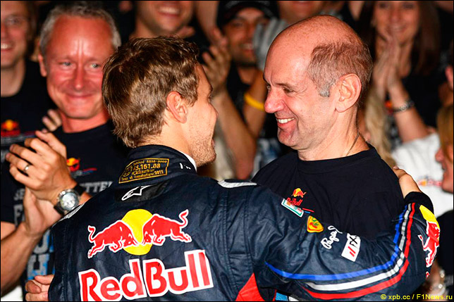 Команда Red Bull Racing - чемпион мира 2011!