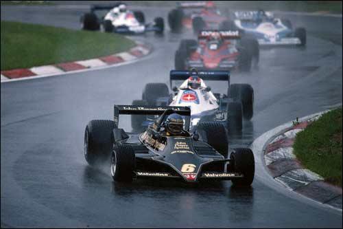 Ронни Петерсон на пути к победе в Гран При Австрии 1978 года