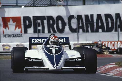 Победитель Гран При Канады 1982 года Нельсон Пике