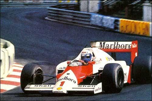 Победитель Гран При Монако 1986 года Ален Прост