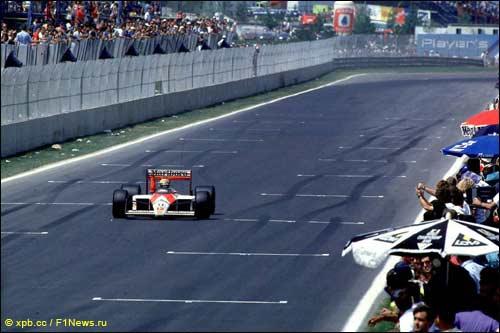 Победный финиш Айртона Сенны на Гран При Канады 1988 года