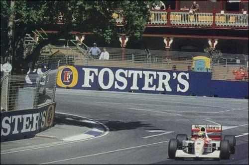 Победитель Гран При Австралии 1993 года Айртона Сенна