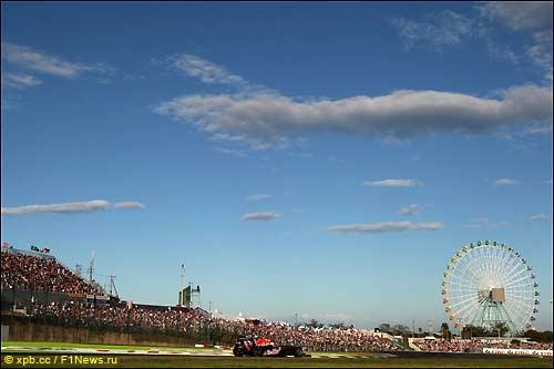 В 2010-м Гран При Японии выиграл Себастьян Феттель