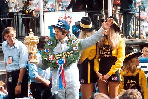 Джоди Шектер. Tyrrell Ford. Гран При Великобритании'74