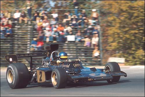 Ронни Петерсон. Lotus 72E Ford. Гран При США'73