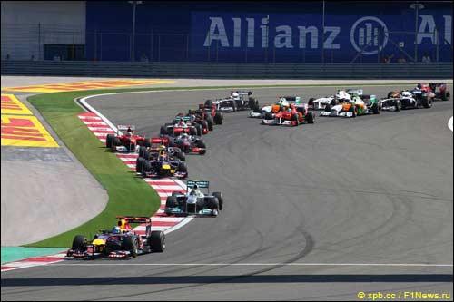 Старт Гран При Турции