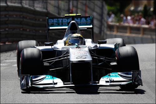 Mercedes GP. Нико Росберг