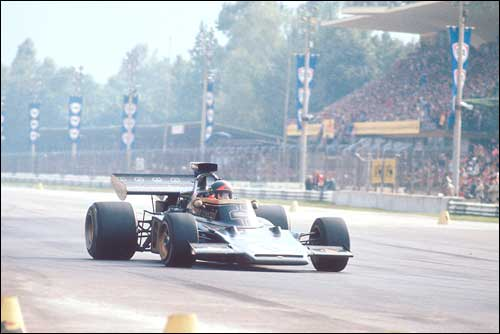 Эмерсон Фиттипальди. Гран При Италии'72