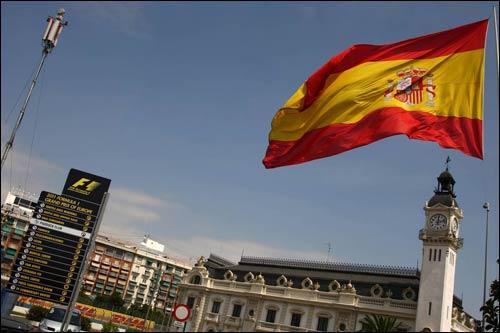 С 2008 года ГранПри Европы проходит в Валенсии