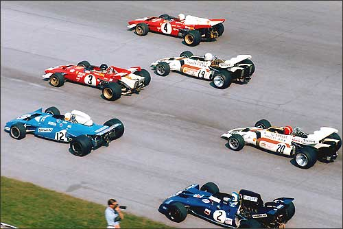 Лидирующая группа. Гран При Италии'71