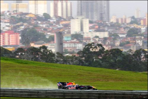 Победитель Гран При Бразилии 2009 и 2011 годов Марк Уэббер