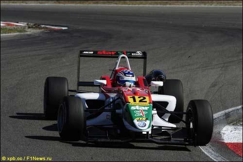 Куба Гермазяк на этапе Формулы 3 в Нидерландах