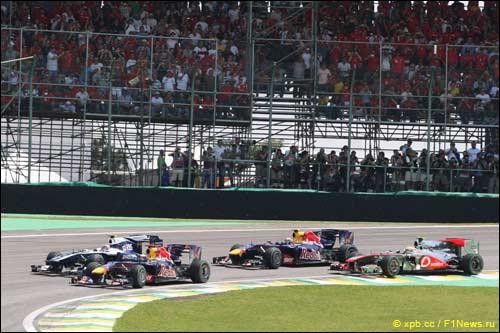 Старт Гран При Бразилии, 2010 год