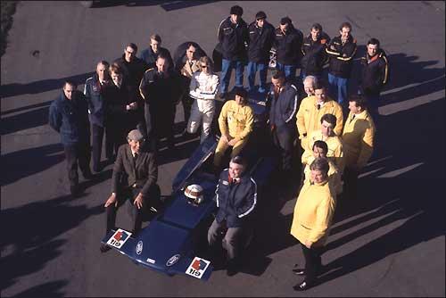 1972-й год. Презентация Tyrrell