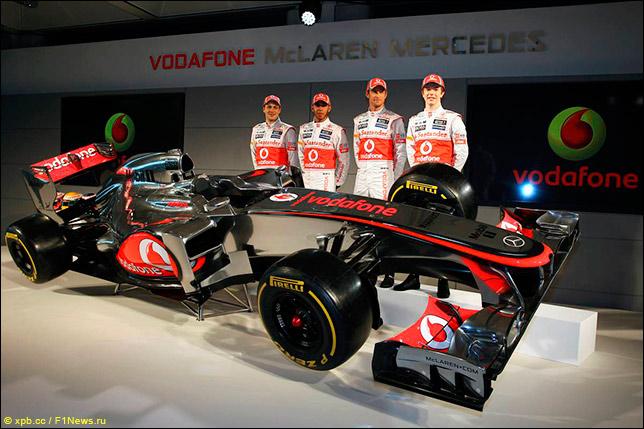 Презхентация McLaren MP4-27