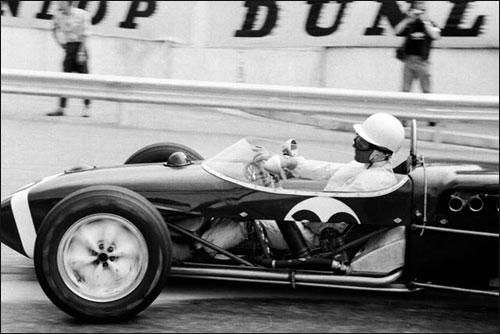 Триумфатор Гран При Монако 1961 года Стирлинг Мосс