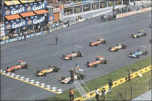 Старт Гран При Италии 1968 года