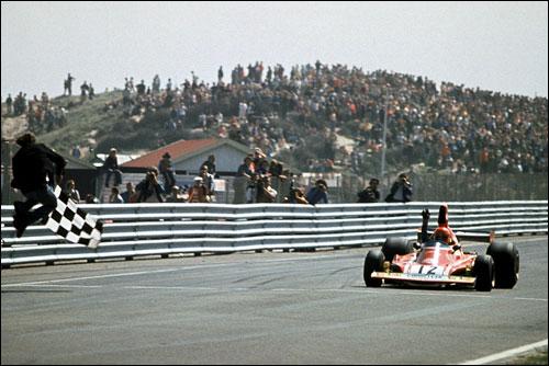 Победный финиш Ники Лауды на Гран При Голландии 1974 года