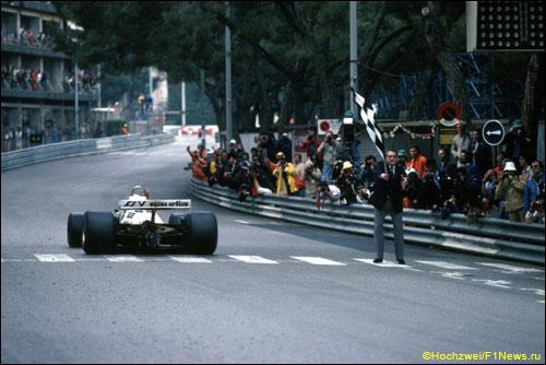 Победный финиш Карлоса Рейтемана на Гран При Монако 1980 года