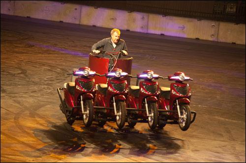 Ведущий программы Top Gear Джереми Кларксон