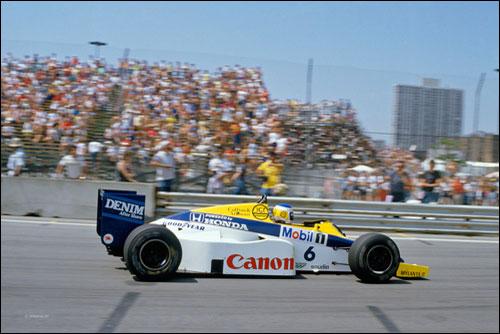 Победитель Гран При Детройта 1985 года Кейо Росберг