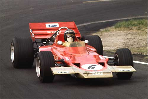 Йохен Риндт. Lotus 72
