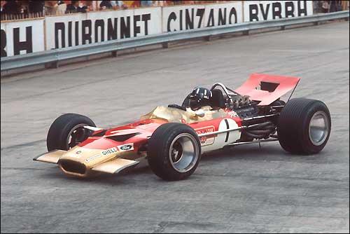 Грэм Хилл. Монако'69