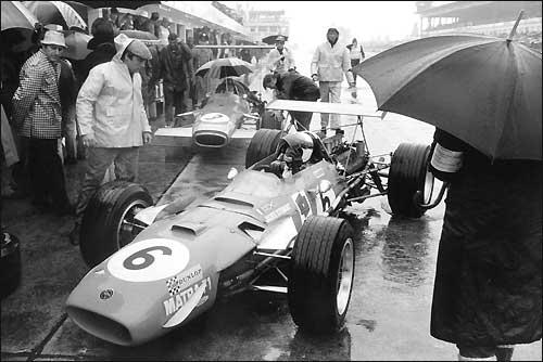 Гран При Германии'68. Джеки Стюарт