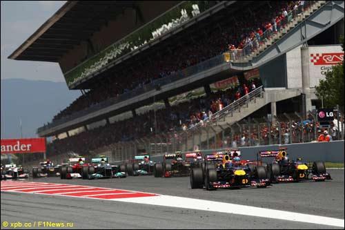 Барселона и Валенсия будут поочередно принимать гонку