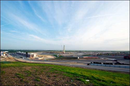 Строительство Circuit of the Americas вошло в финальную фазу, фото пресс-службы автодрома