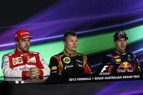 Гран При Австралии. Пресс-конференция по итогам гонки