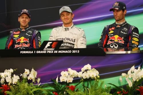 Гран При Монако. Пресс-конференция в воскресенье