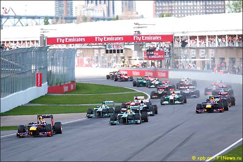 Старт Гран При Канады 2013