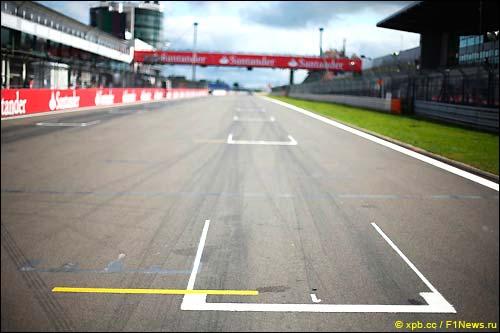Стартовое поле Гран При Германии 2013