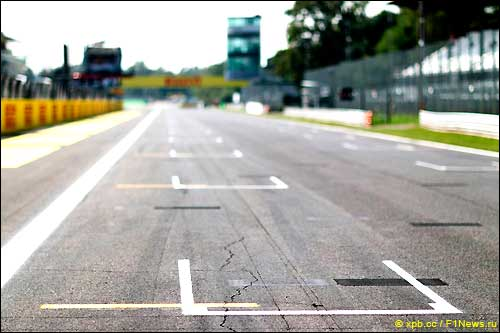 Стартовое поле Гран При Италии 2013