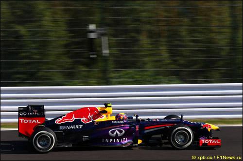 Марк Уэббер на Гран При Японии