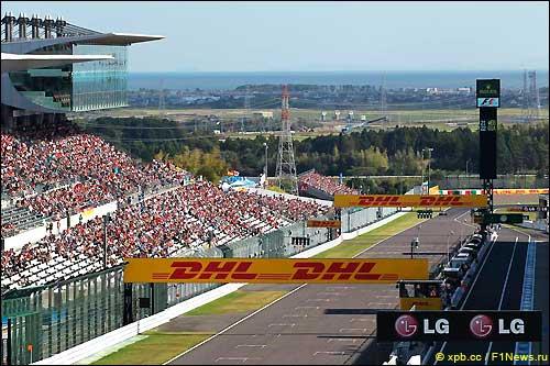 Стартовое поле Гран При Японии 2013