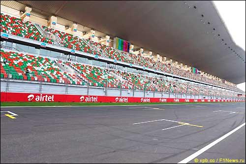 Стартовое поле Гран При Индии 2013
