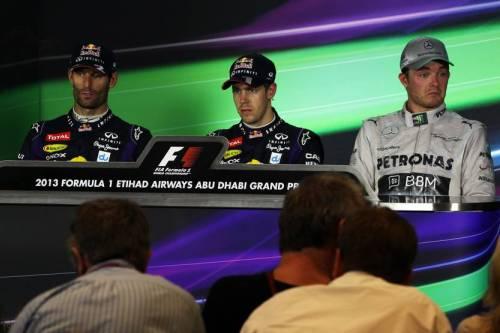 Гран При Абу Даби: пресс-конференция в воскресенье