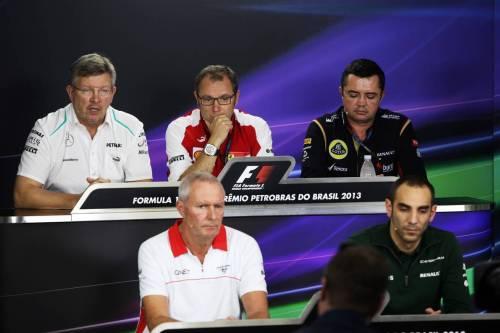 Гран При Бразилии. Пресс-конференция в пятницу