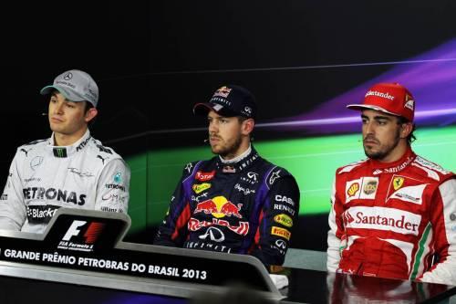 Гран При Бразилии. Пресс-конференция в субботу