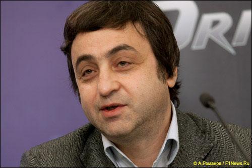 Совладелец команды RFR Дмитрий Сапгир