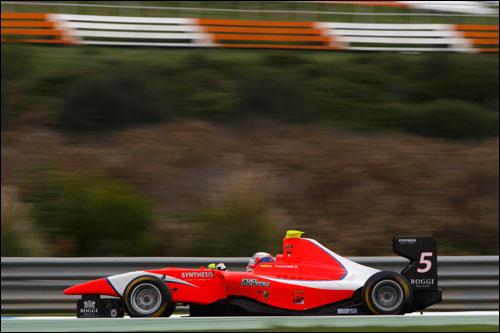 Давид Фуманелли на тестах GP3 в Эшториле
