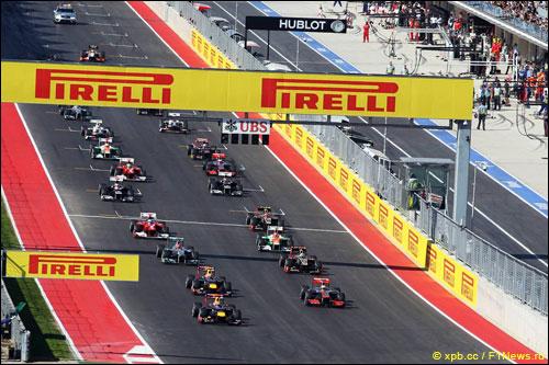 Старт Гран При США'12