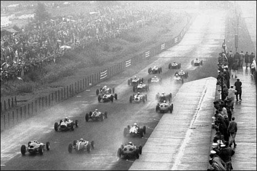 Старт Гран При Германии 1962 года
