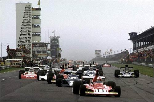 Клей Регаццони лидирует на старте Гран При Германии 1974 года