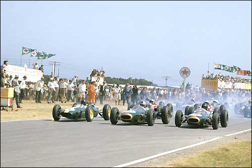 Старт Гран При ЮАР'63
