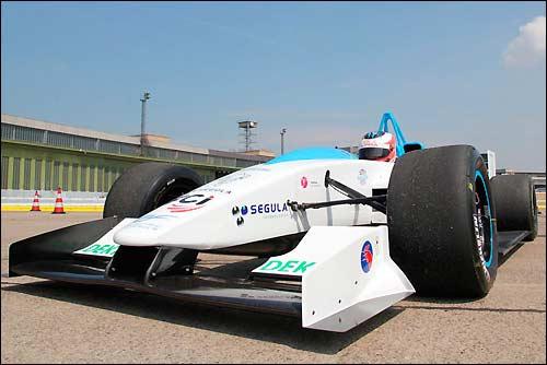 Прототип машины Формулы E