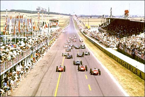 Старт Гран При Франции'61