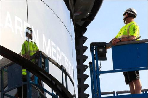 Возведение моторхоума McLaren. Фото McLaren